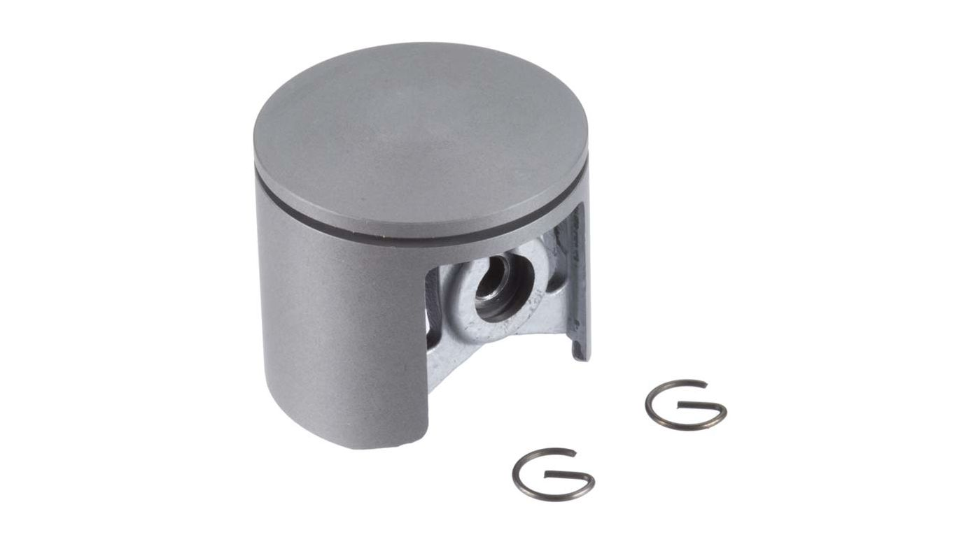 Image for Piston w Pin & Retainer: DLE-222 from HorizonHobby
