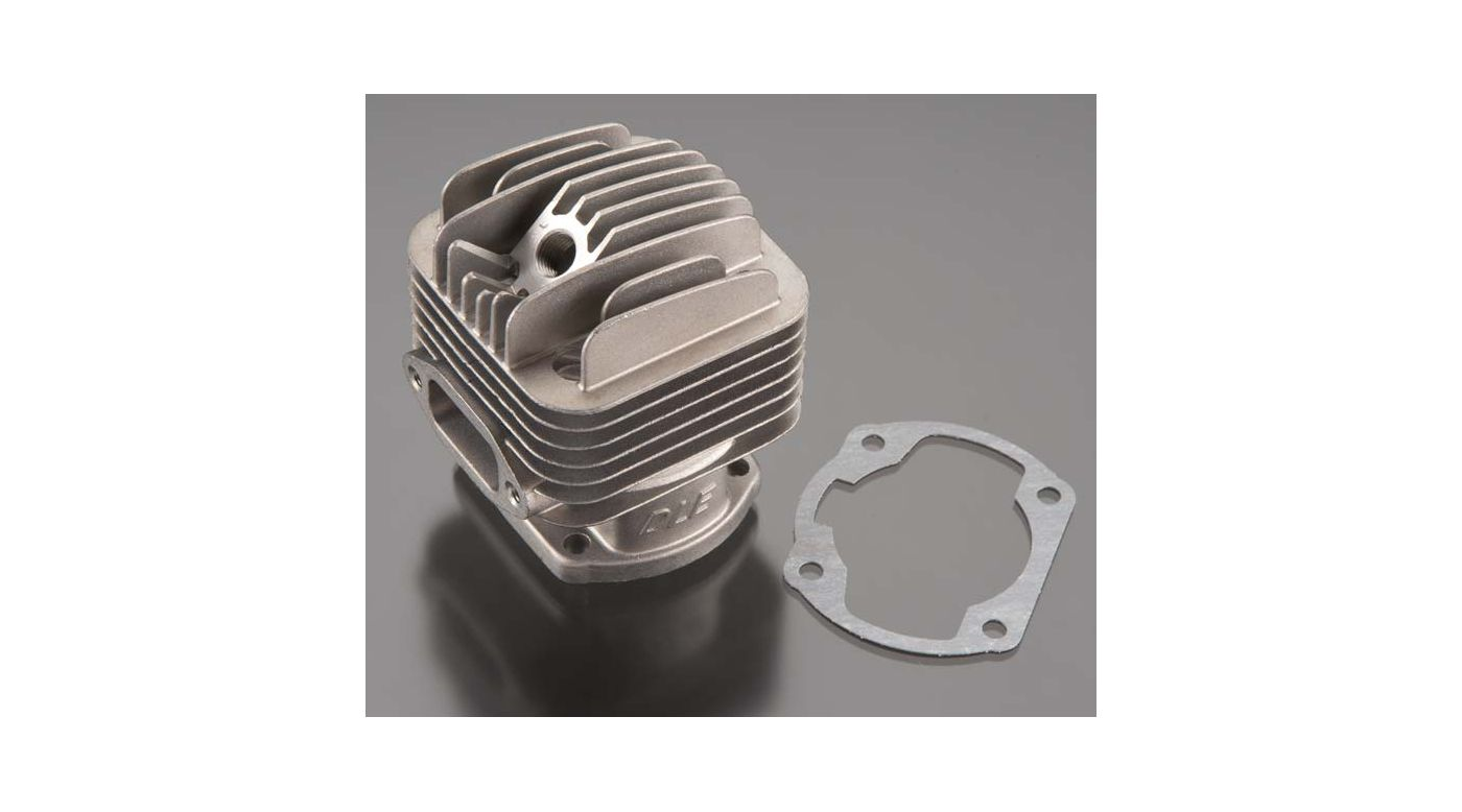 Image for Cylinder with Gasket: DLE 35-RA from HorizonHobby