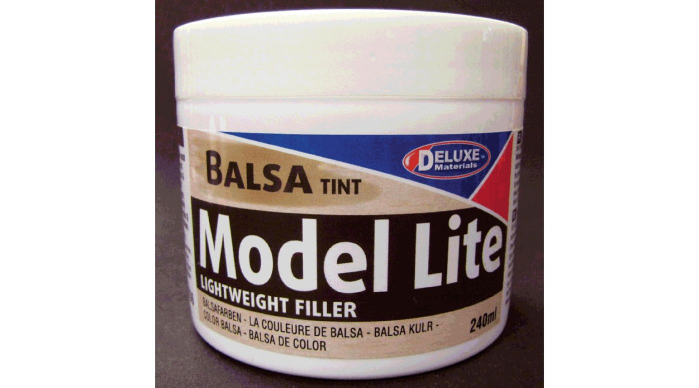 Image for Model Lite Balsa Filler, Balsa Brown: 240cc from Horizon Hobby