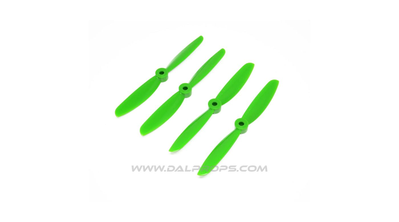 Image for 5X4.5 DAL Prop: Green (4pk) from HorizonHobby