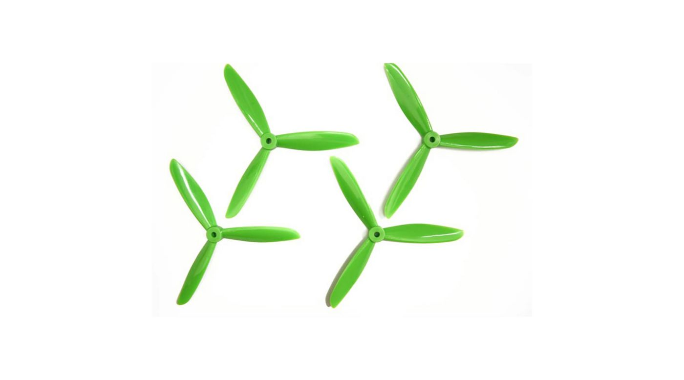 Image for 6x4.5 DAL Tri-Prop: Green (4pk) from HorizonHobby