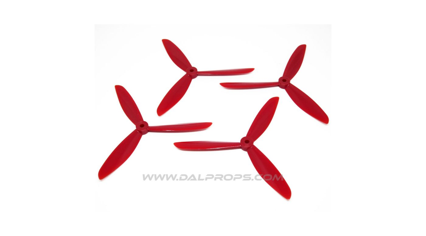 Image for 6x4.5 DAL Tri-Prop: Purple (4pk) from HorizonHobby