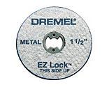 Dremel Mfg. Division - EZ Lock System Cutoff Wheels (5): Metal