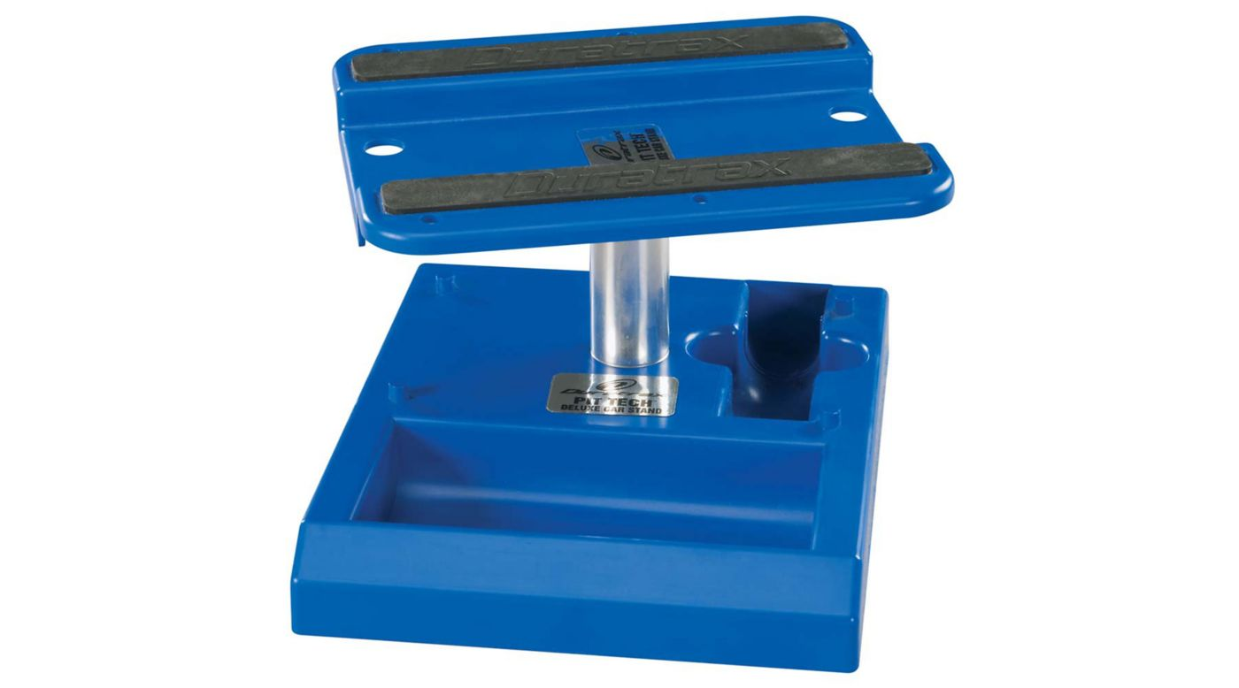Image for Pit Tech Deluxe Car Stand, Blue from HorizonHobby