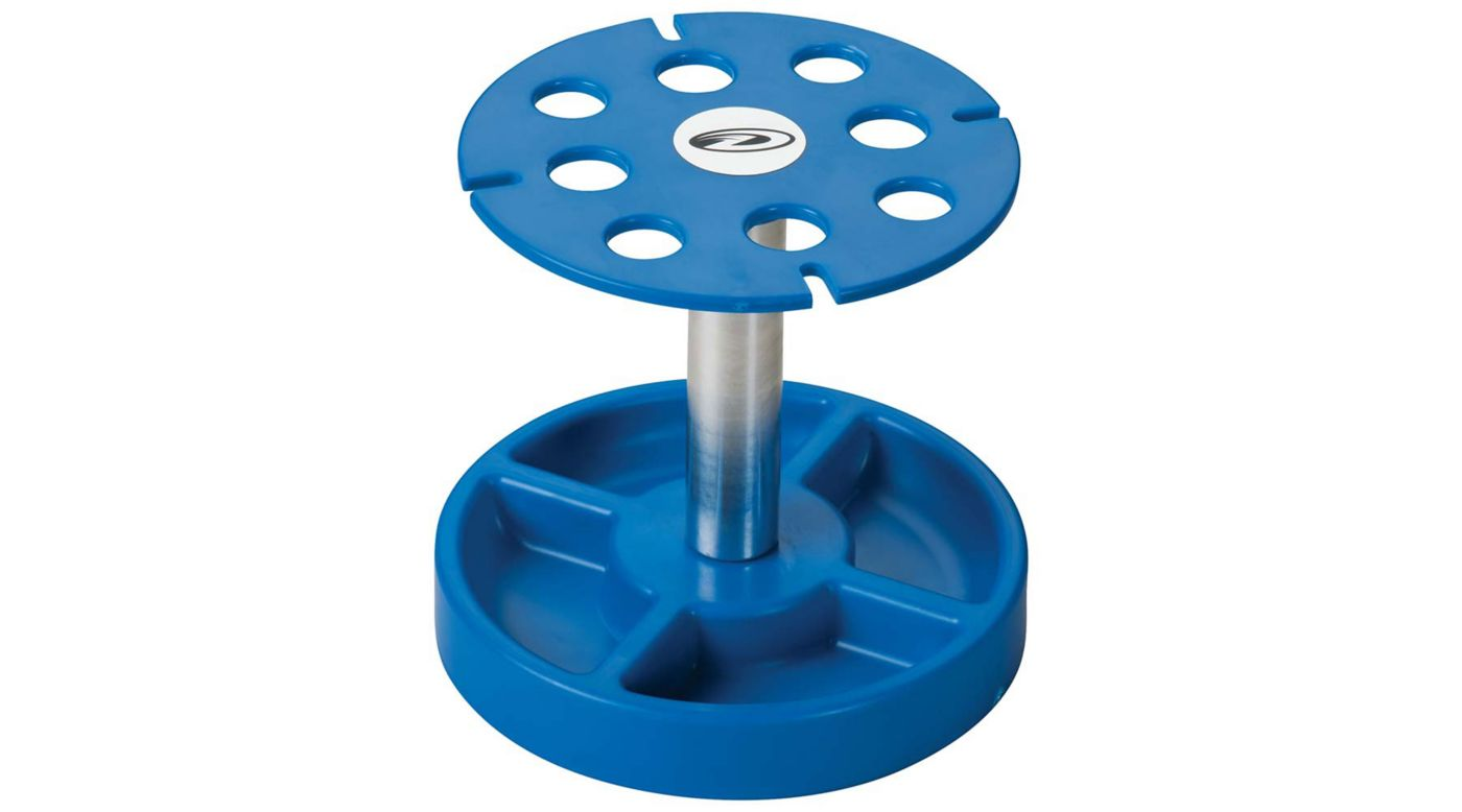 Image for Pit Tech Deluxe Shock Stand, Blue from HorizonHobby