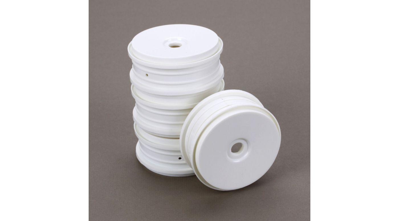 Image for SpeedTreads Dish Wheels White (4): 1/8 Buggy from HorizonHobby