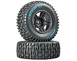 Duratrax - Lockup SC Tire C2 Mounted Black Front: Slash(2)