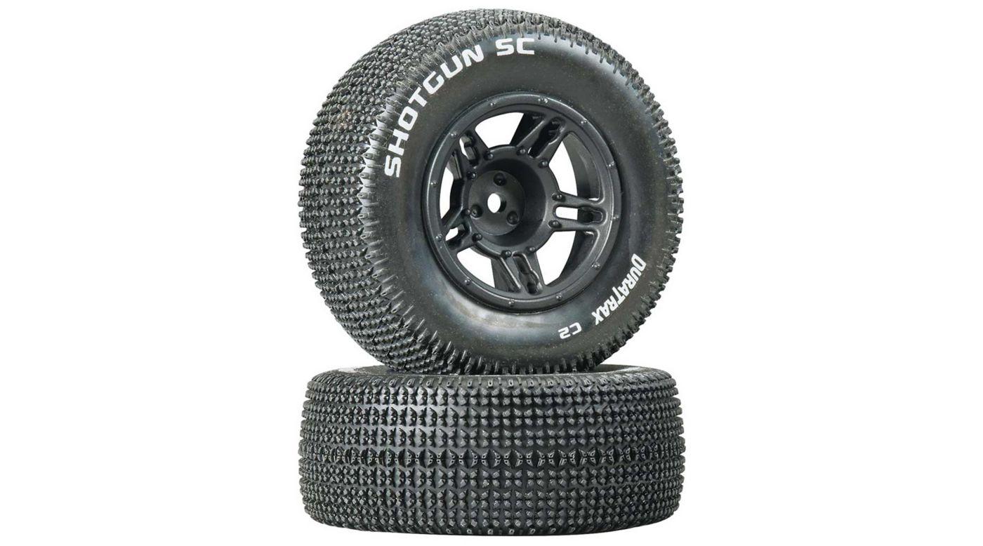 Image for 1/10 Shotgun SC Tire C2 Mounted Front Tires: Slash (2 from HorizonHobby