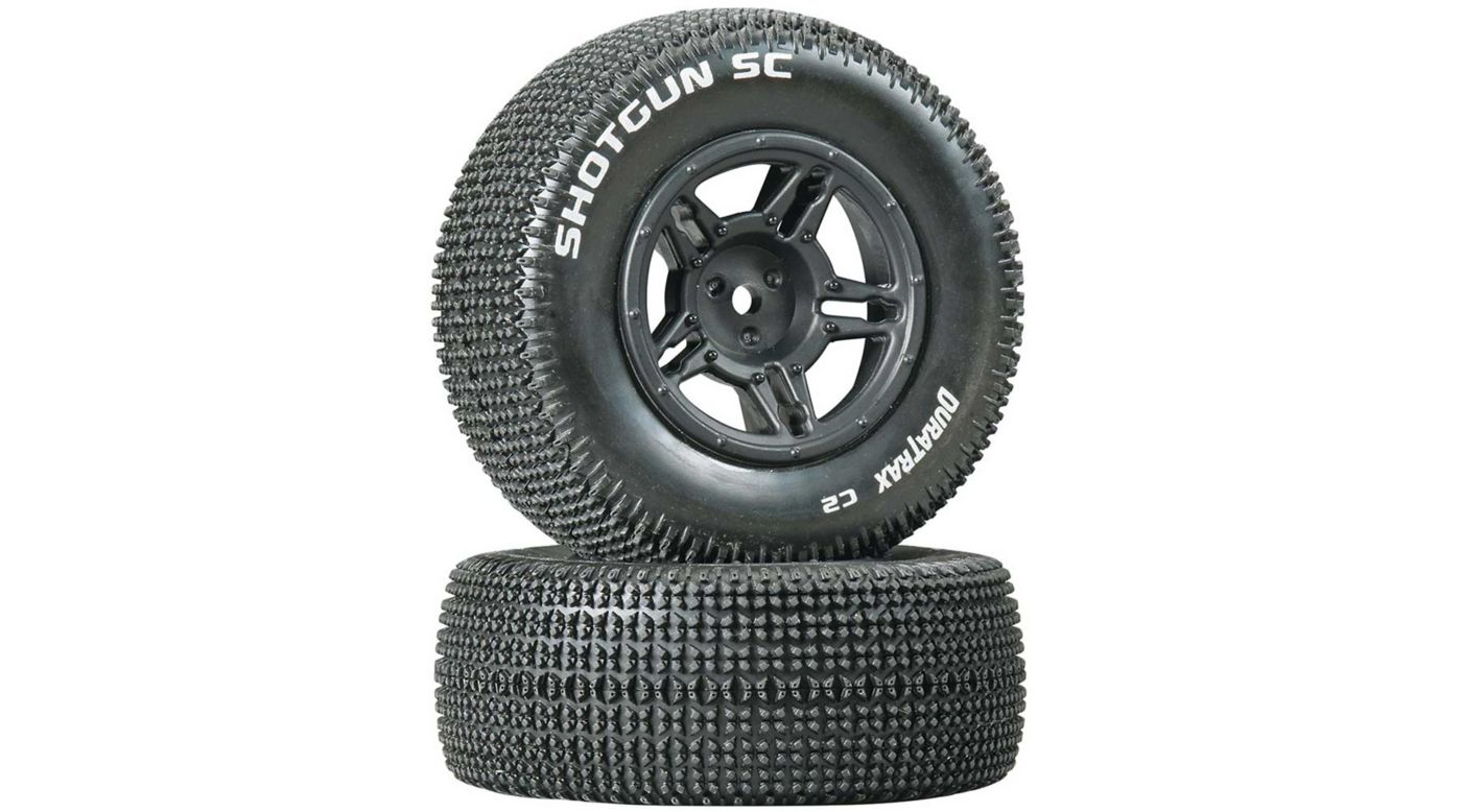 Image for Shotgun SC Tire C2 Mounted Rear Tires: Slash (2) from HorizonHobby