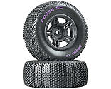 Duratrax - Posse SC C2 Mounted Tires, Rear Slash (2)