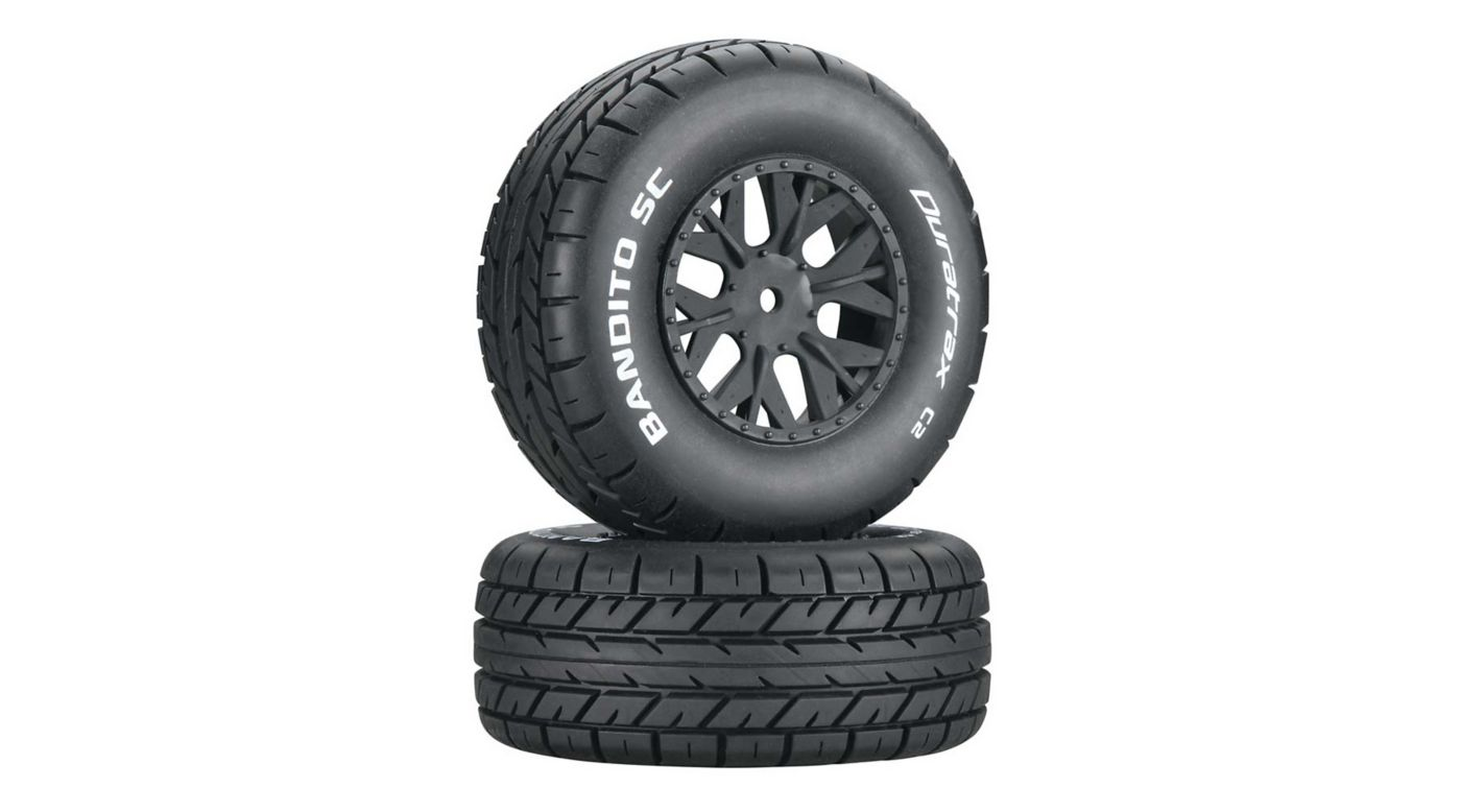 Image for Bandito SC C2 Mounted Tires: SC10 4x4 (2) from HorizonHobby
