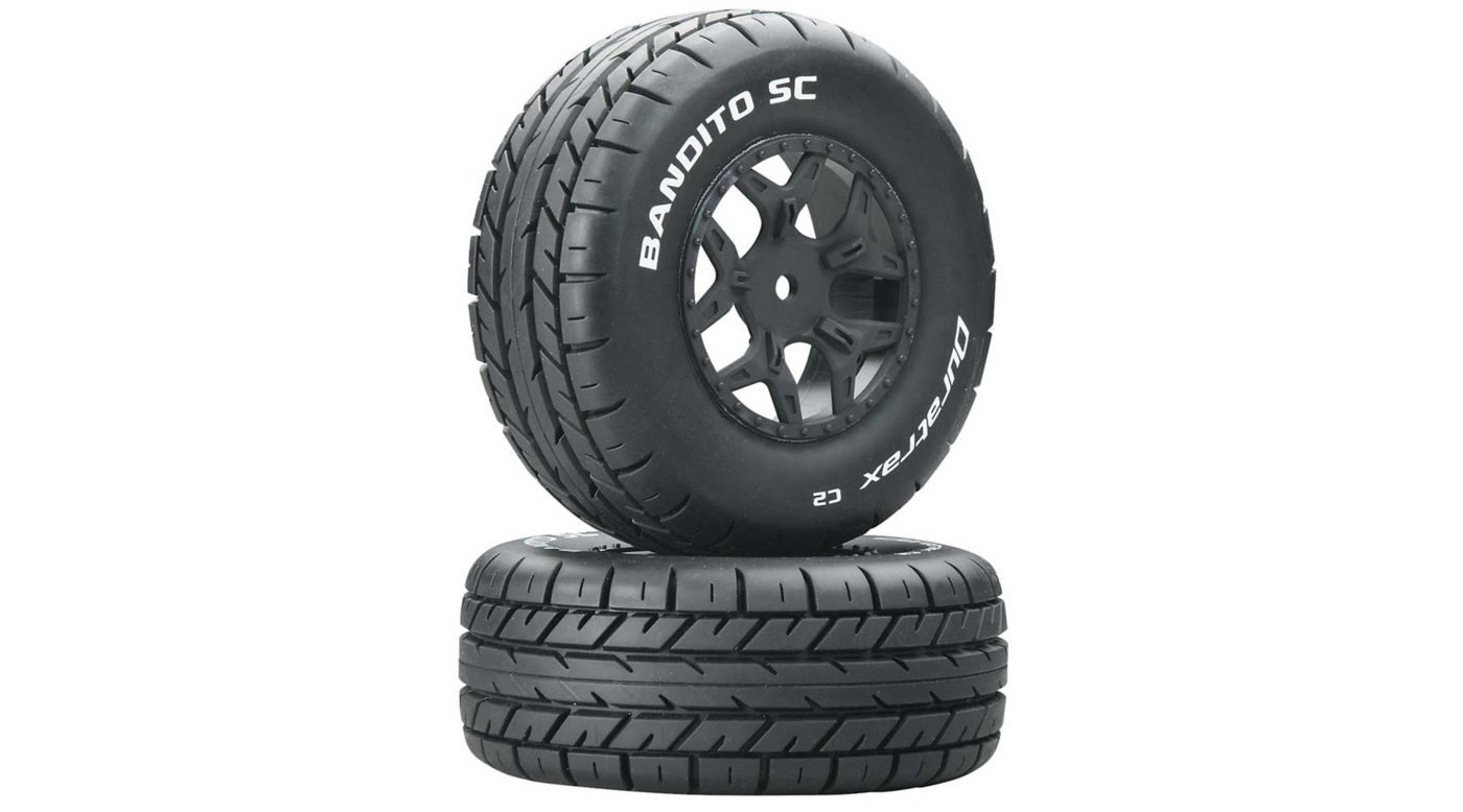 Image for Bandito SC C2 Mounted Tires: SCTE 4x4 (2) from HorizonHobby