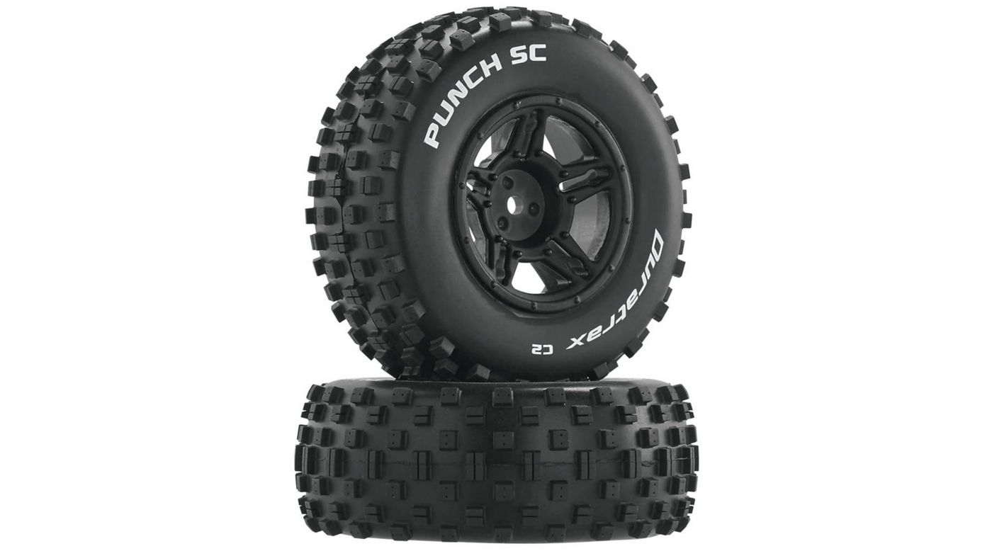 Image for Punch SC C2 Front Rear Mounted Tires: Slash 4x4 Blitz (2) from HorizonHobby
