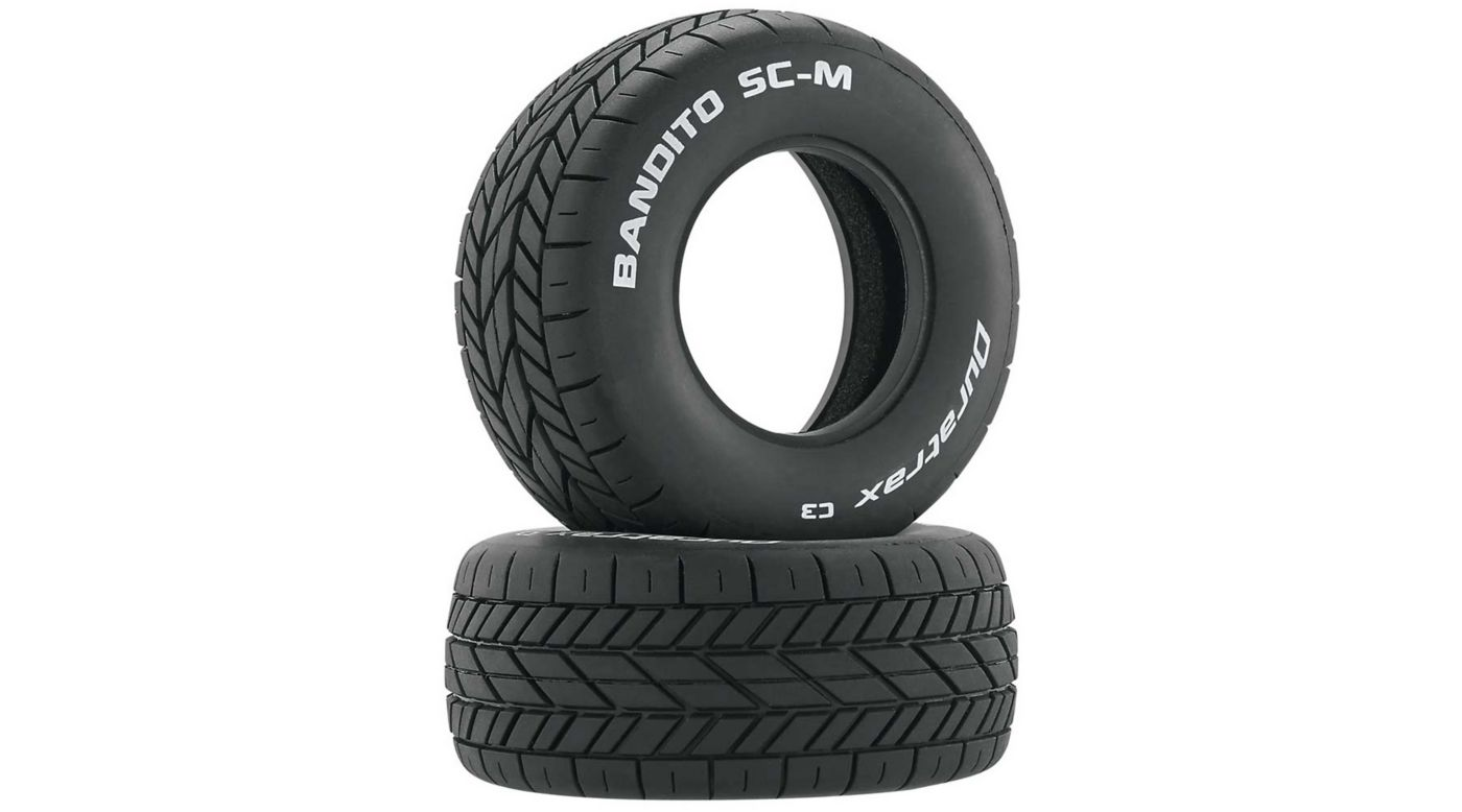 Image for Bandito SC-M Oval Tires C3 (2) from HorizonHobby