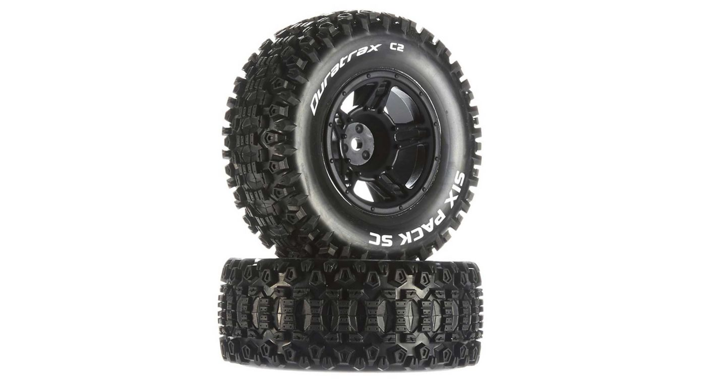 Image for Six-Pack SC C2 Mounted Tires: Traxxas Slash Front (2) from HorizonHobby