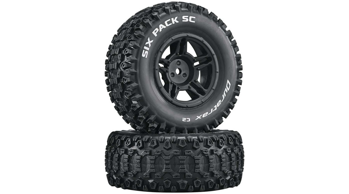 Image for Six-Pack SC C2 Mounted Tires: Slash 4x4 Blitz Front Rear (2) from HorizonHobby