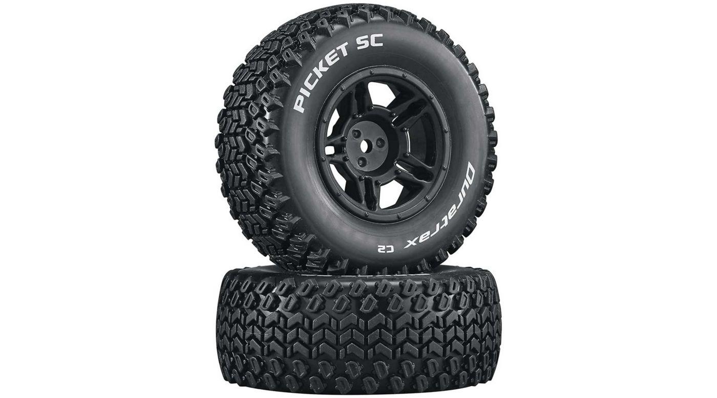 Image for Picket SC C2 Mounted Tires: Slash 4x4 Blitz Front Rear (2) from HorizonHobby