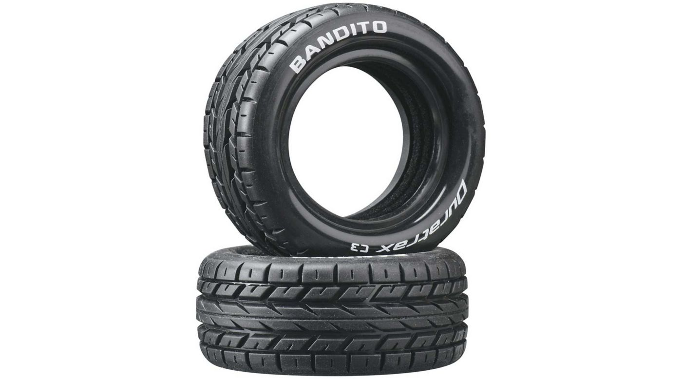 Image for Bandito 1/10 Buggy Tires Front 4WD C3 (2) from HorizonHobby