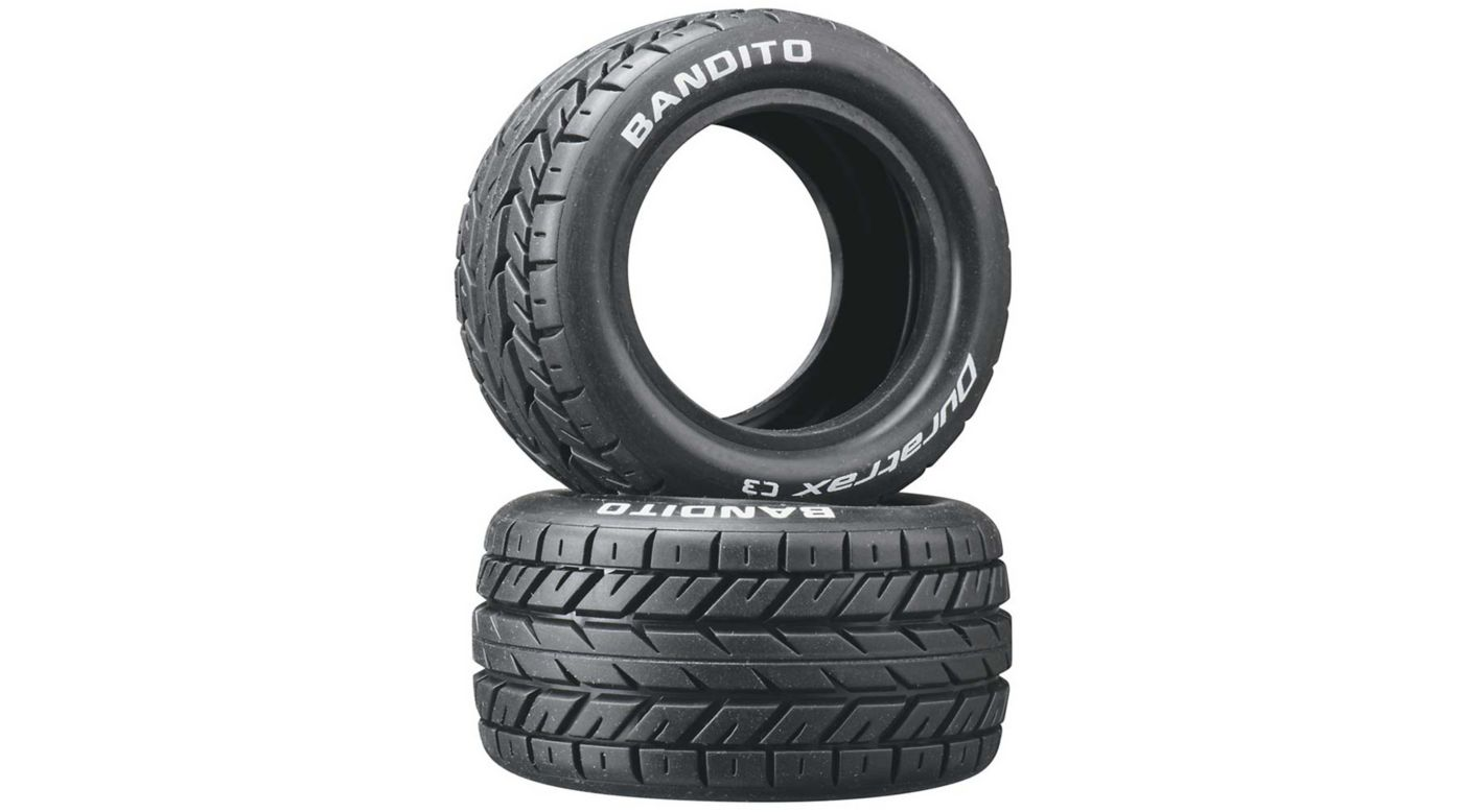 Image for Bandito 1/10 Buggy Tires Rear 4WD C3 (2) from HorizonHobby