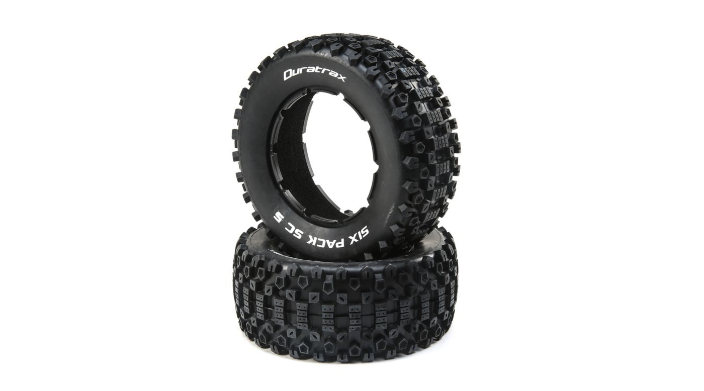 Image for Six Pack 1/5 SC Sport Tires (2) from HorizonHobby