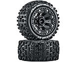 Duratrax - Lockup ST 2.2 Tires, Black (2)