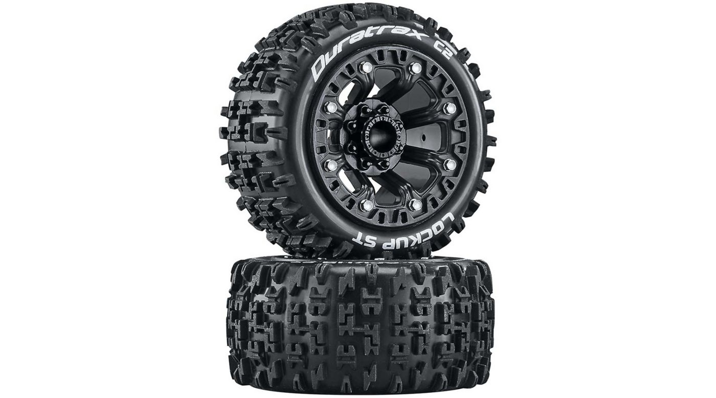 Image for Lockup ST 2.2 Tires, Black (2) from HorizonHobby