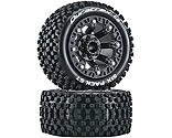 Duratrax - Six Pack ST 2.2 Tires, Black (2)