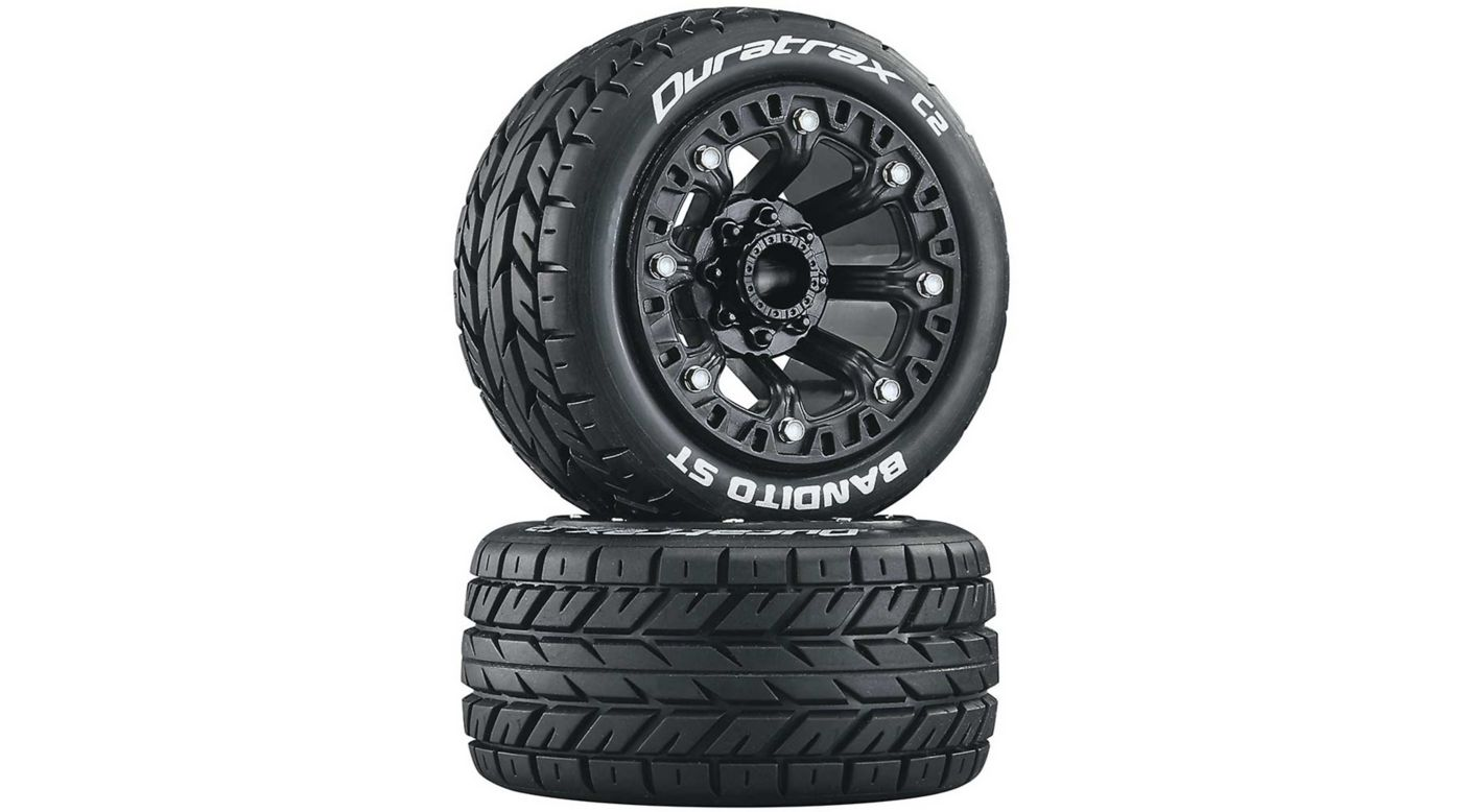Image for Bandito ST 2.2 Tires, Black (2) from HorizonHobby