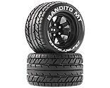 Duratrax - Bandito MT 2.8 Mounted Tires,Black 14mm Hex (2)