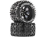 Duratrax - Lockup MT 2.8 Mounted Tires, Black 14mm Hex (2)
