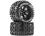 Duratrax - Lockup MT 2.8 Mounted Tires, Black 14mm Hex (2)