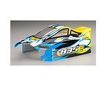 Duratrax - Body with Decals, Yellow: 835E