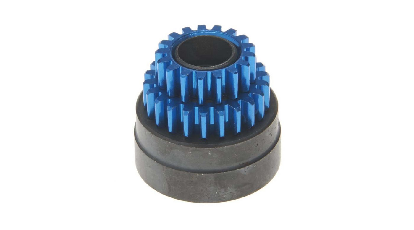 Image for Clutch Bell with Gear 17T 22T: Nissan GT-R, Camaro from HorizonHobby