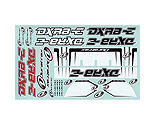 Duratrax - Decal Set: DXR8-E