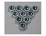 Duratrax - Locknut, 3mm (10)