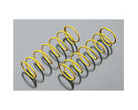 Duratrax - Shock Spring Front Medium, Yellow (2): 835E
