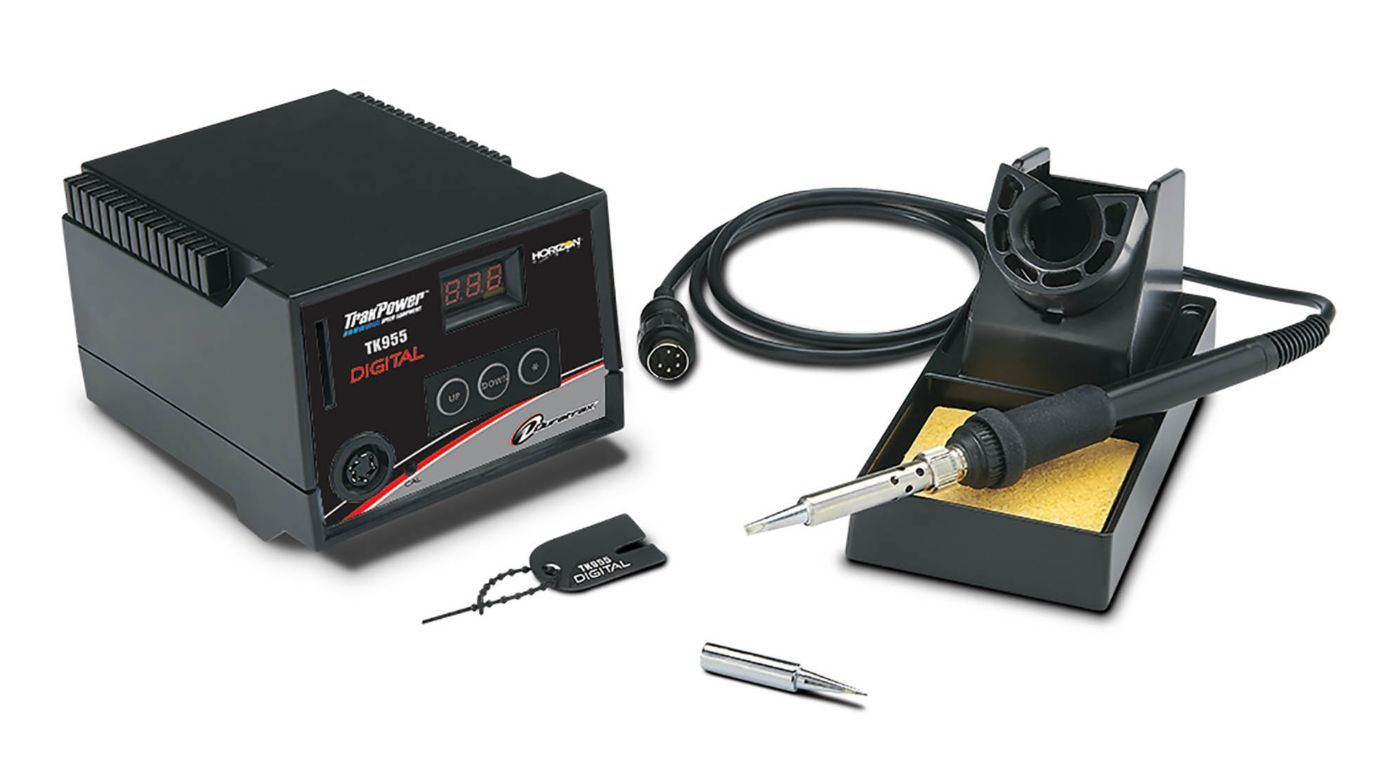 Image for TrakPower TK955 Digital Soldering Station from HorizonHobby