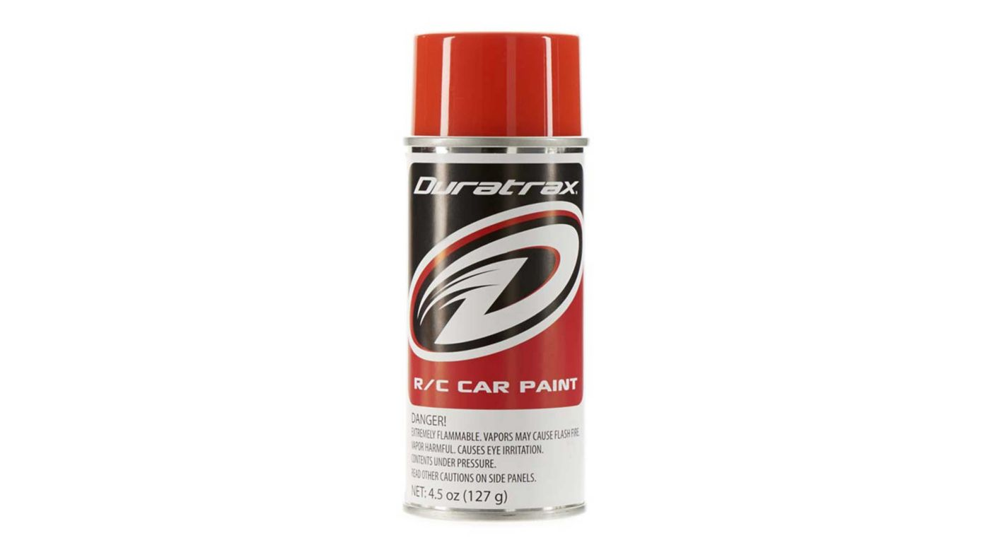 Image for Polycarb Spray, Competition Orange, 4.5 oz from HorizonHobby
