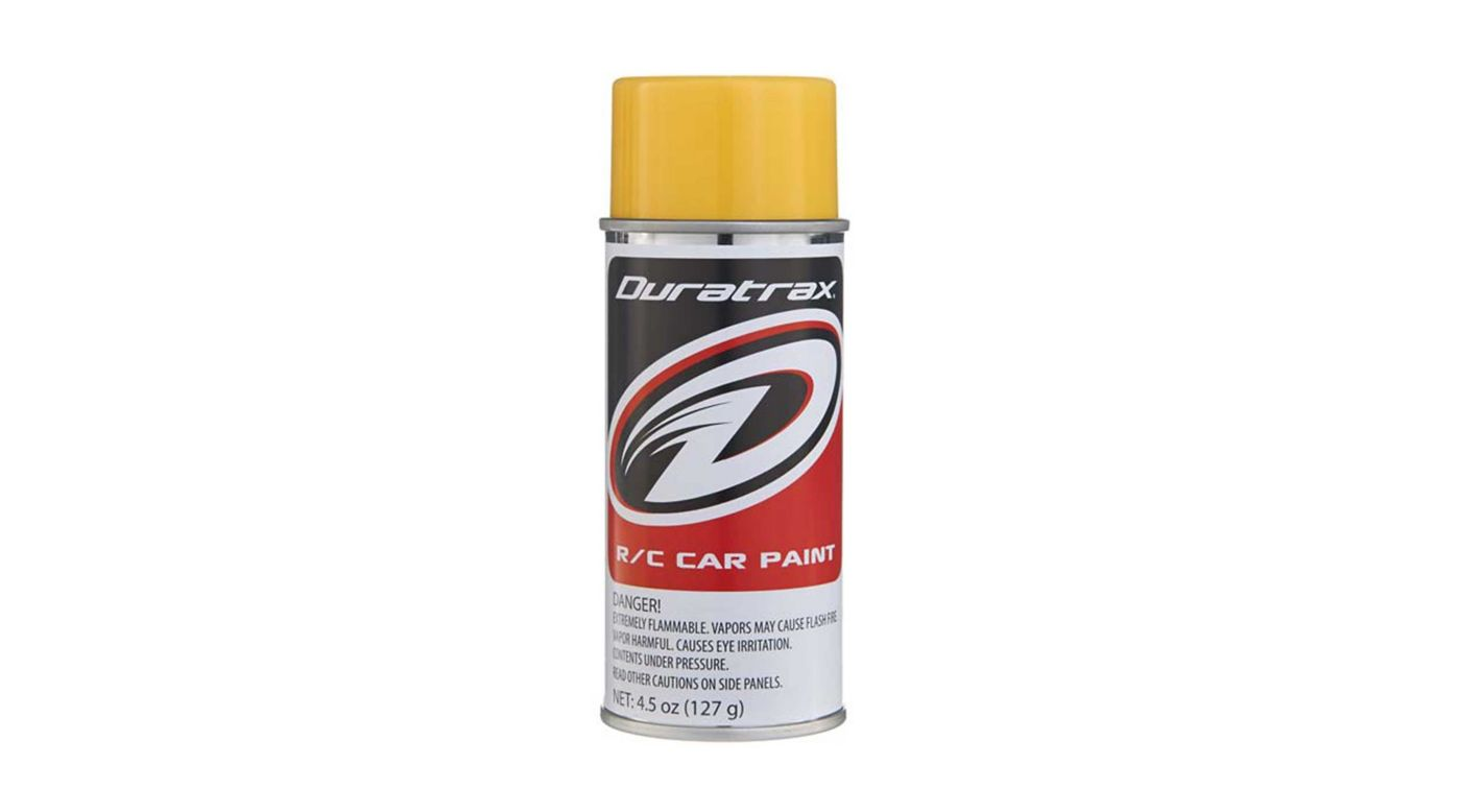 Image for Polycarb Spray, Mellow Yellow, 4.5 oz from HorizonHobby