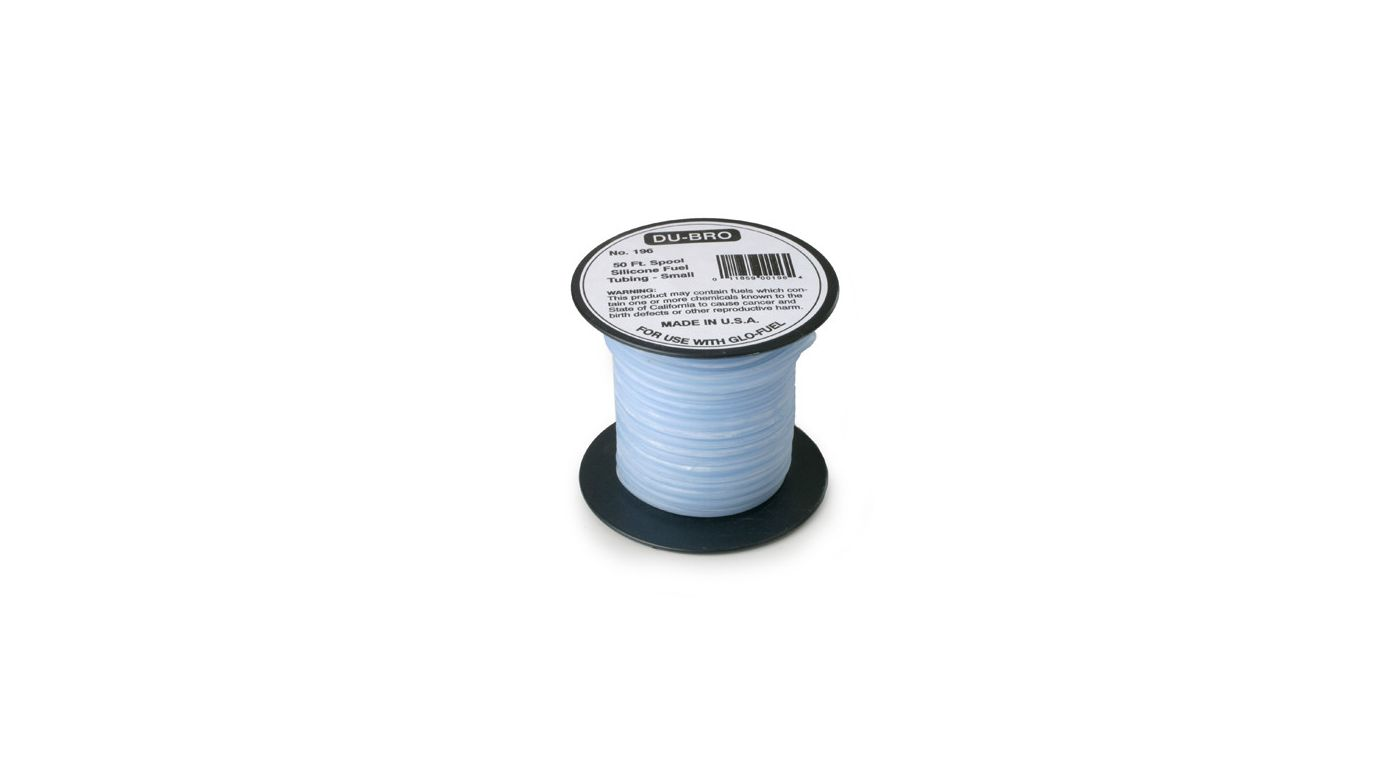 Image for Silicone Fuel Blue Tubing, Small, 50' from HorizonHobby