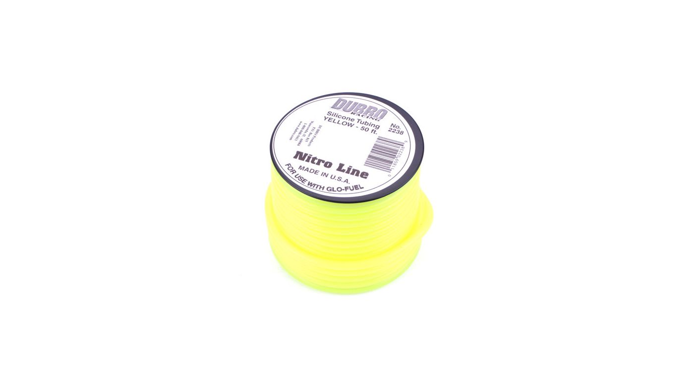 Image for Silicone 50' Fuel Tubing, Yellow from HorizonHobby
