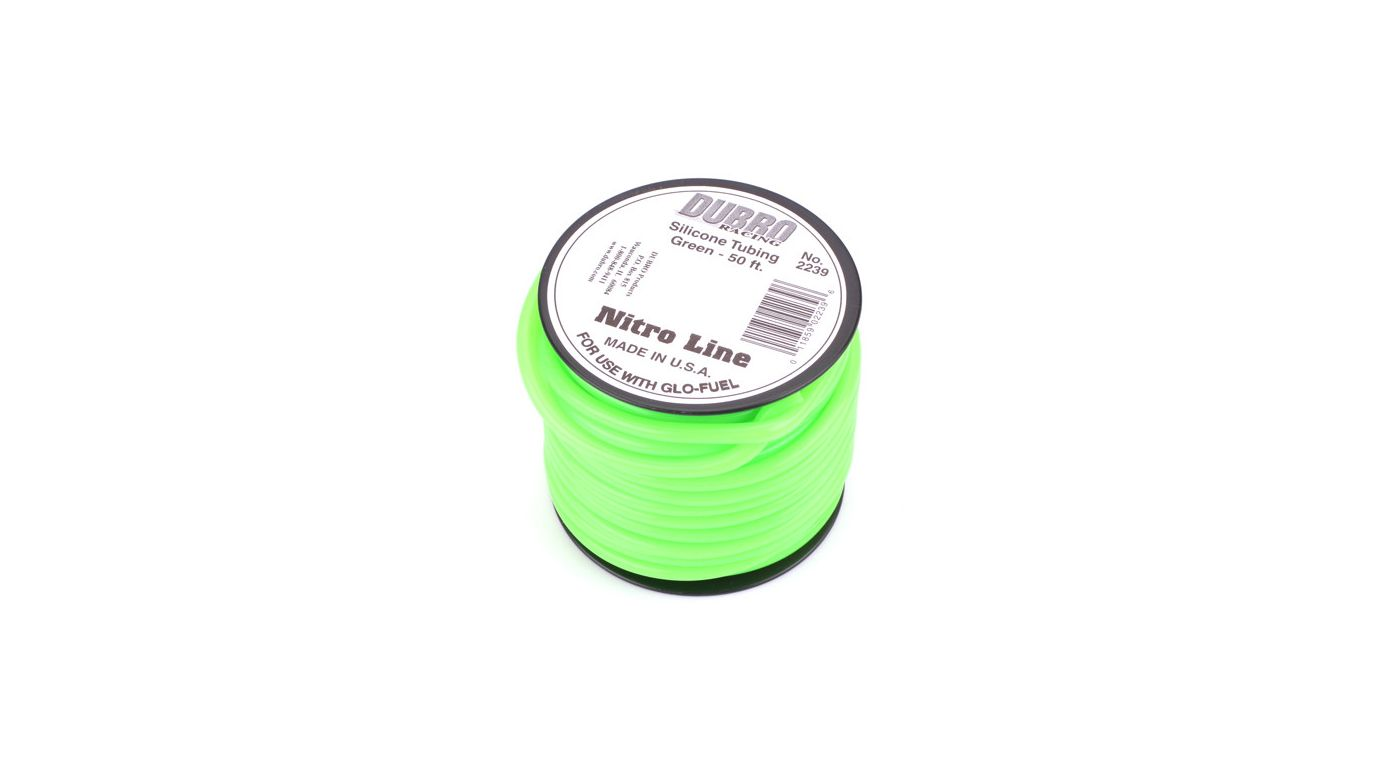 Image for Silicone 50' Fuel Tubing, Green from HorizonHobby