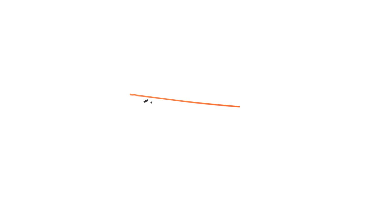 Image for Antenna Tube with Cap, Neon Orange from HorizonHobby