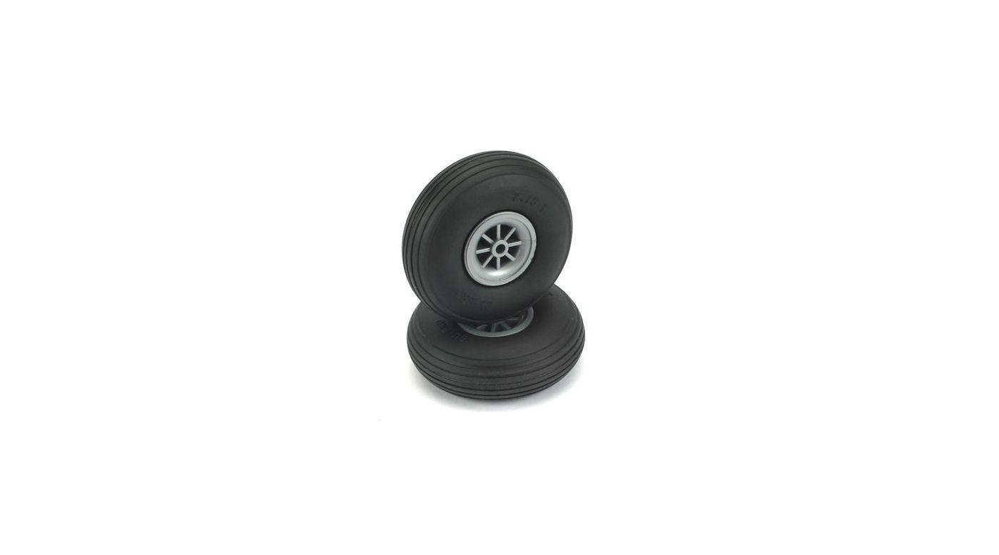 Image for Treaded Wheels,2-3/4