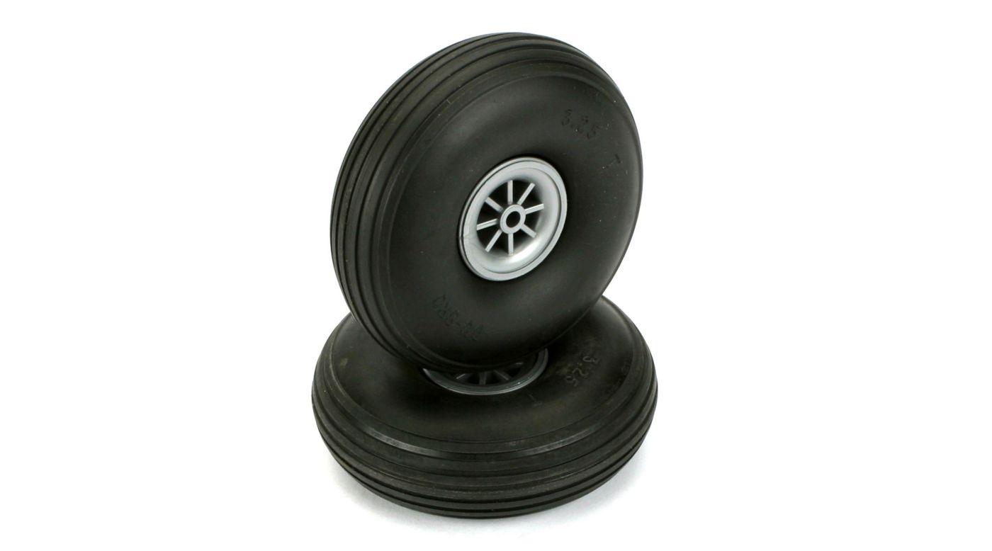 Image for Treaded Wheels, 3-1/4
