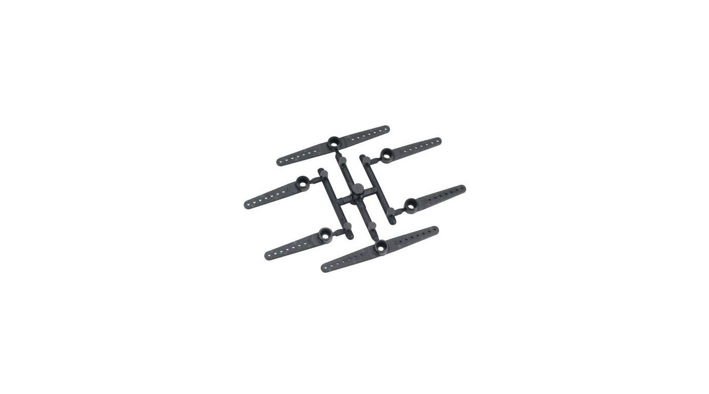 Image for Micro Servo Arm XL: E-Flite S75/FUT/HRC (6) from HorizonHobby