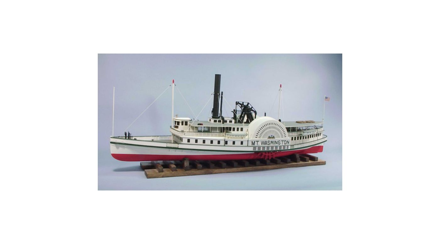 Image for 1/48 The Mount Washington Boat Kit, 44