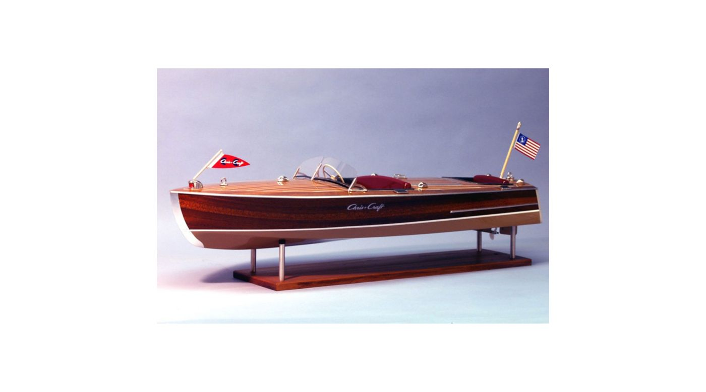 Image for 1949 19' Chris Craft Racing Runabout Boat Kit from HorizonHobby