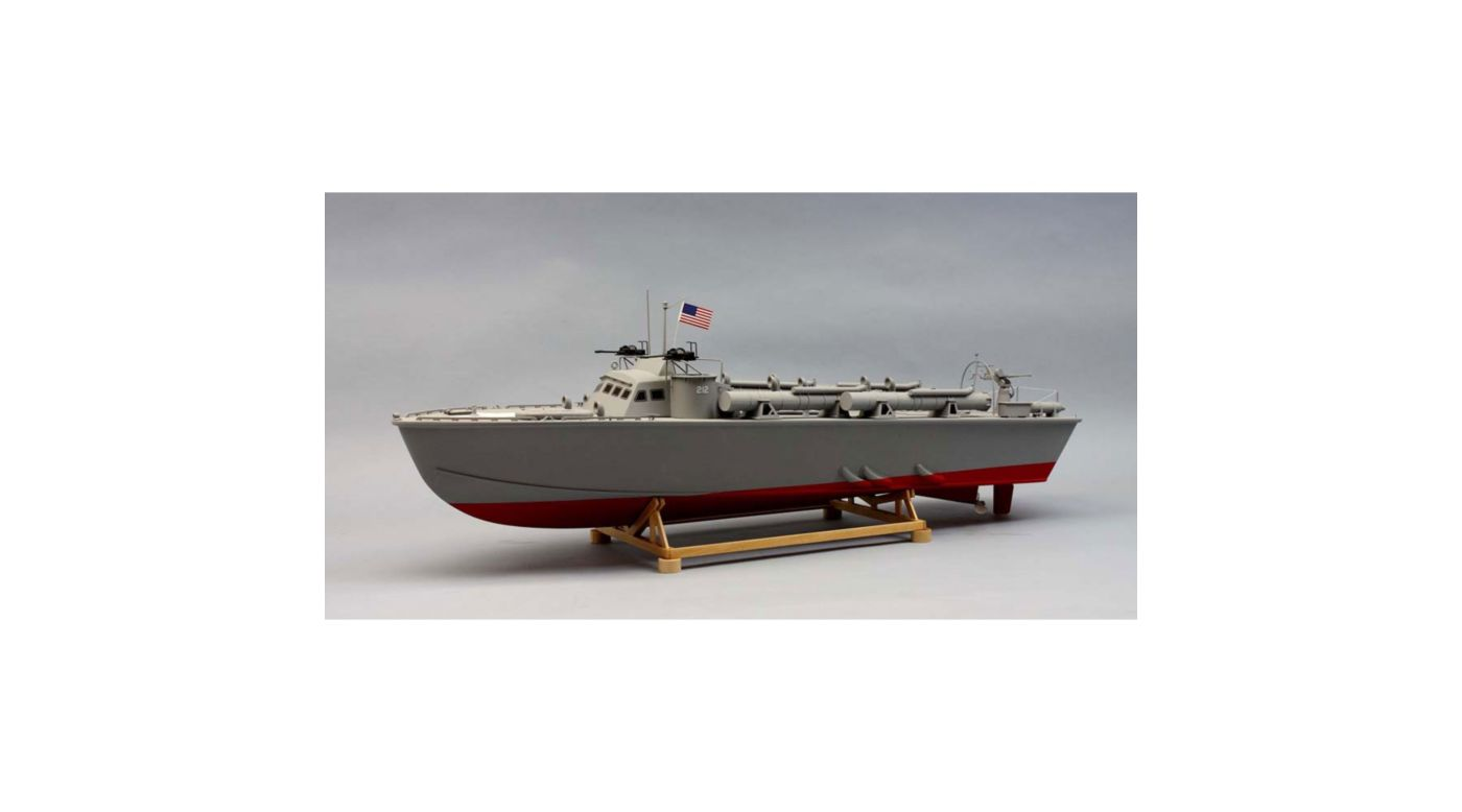 Image for 1/30 1978 PT-212 Higgins Patrol Torpedo Boat Kit, 30