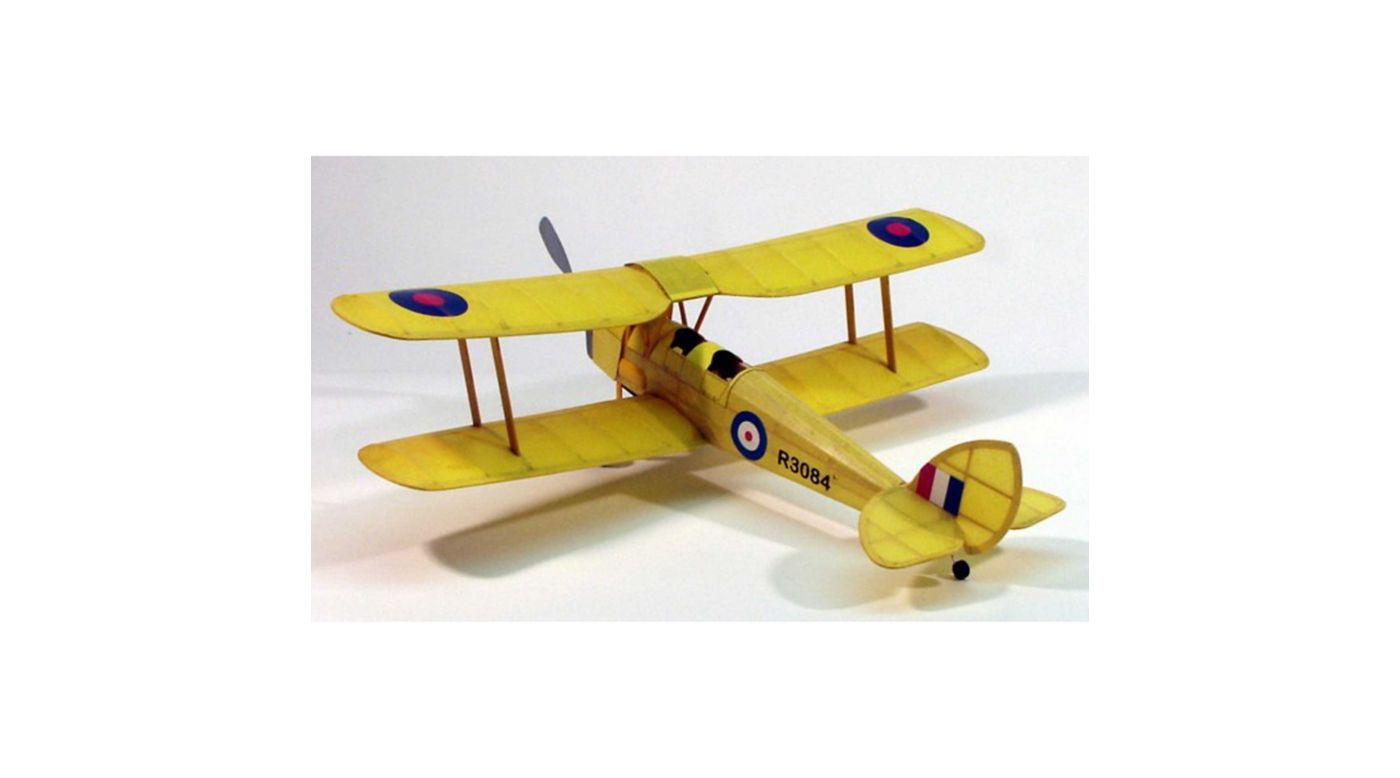 Image for Tiger Moth Rubber Powered Kit, 17.5